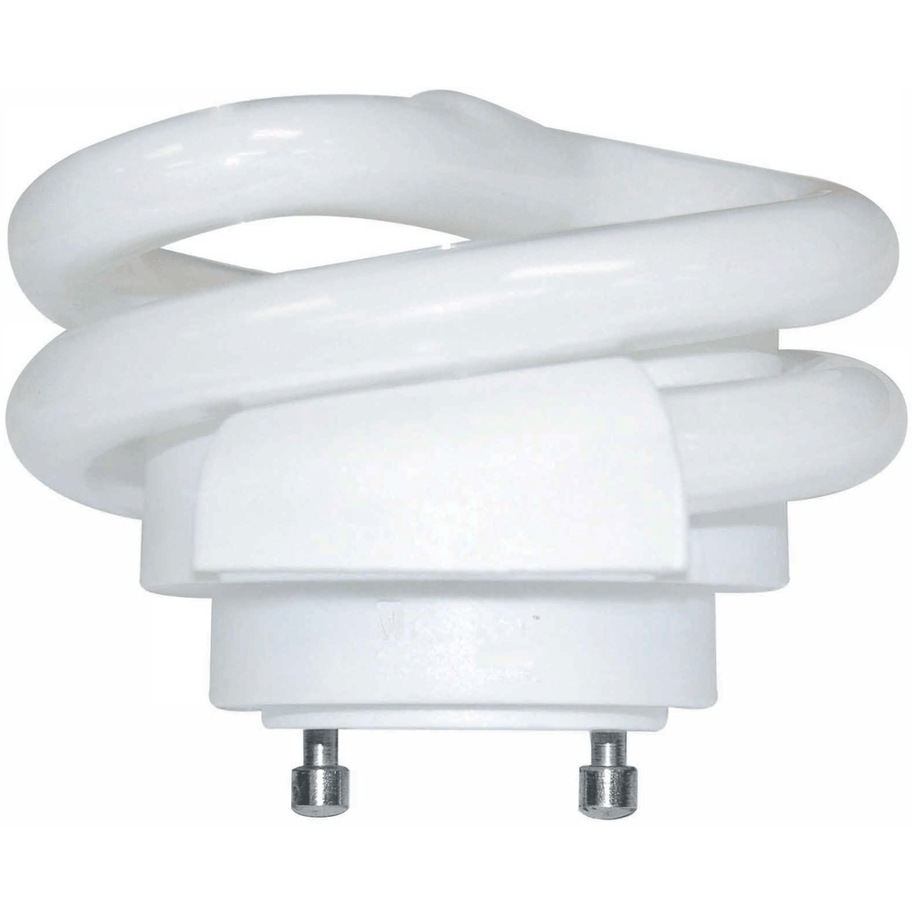 13 Watt - Short Spiral CFL - GU24 Base - 2700K - Title 24 Warm White - 120V - 80 CRI - 900 Lumen - 69.2 Lumens per Watt Four Bros Lighting
