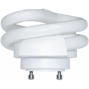 18 Watt - Short Spiral CFL - GU24 Base - 2700K - Title 24 Warm White - 120V - 80 CRI - 1250 Lumen - 69.4 Lumens per Watt Four Bros Lighting