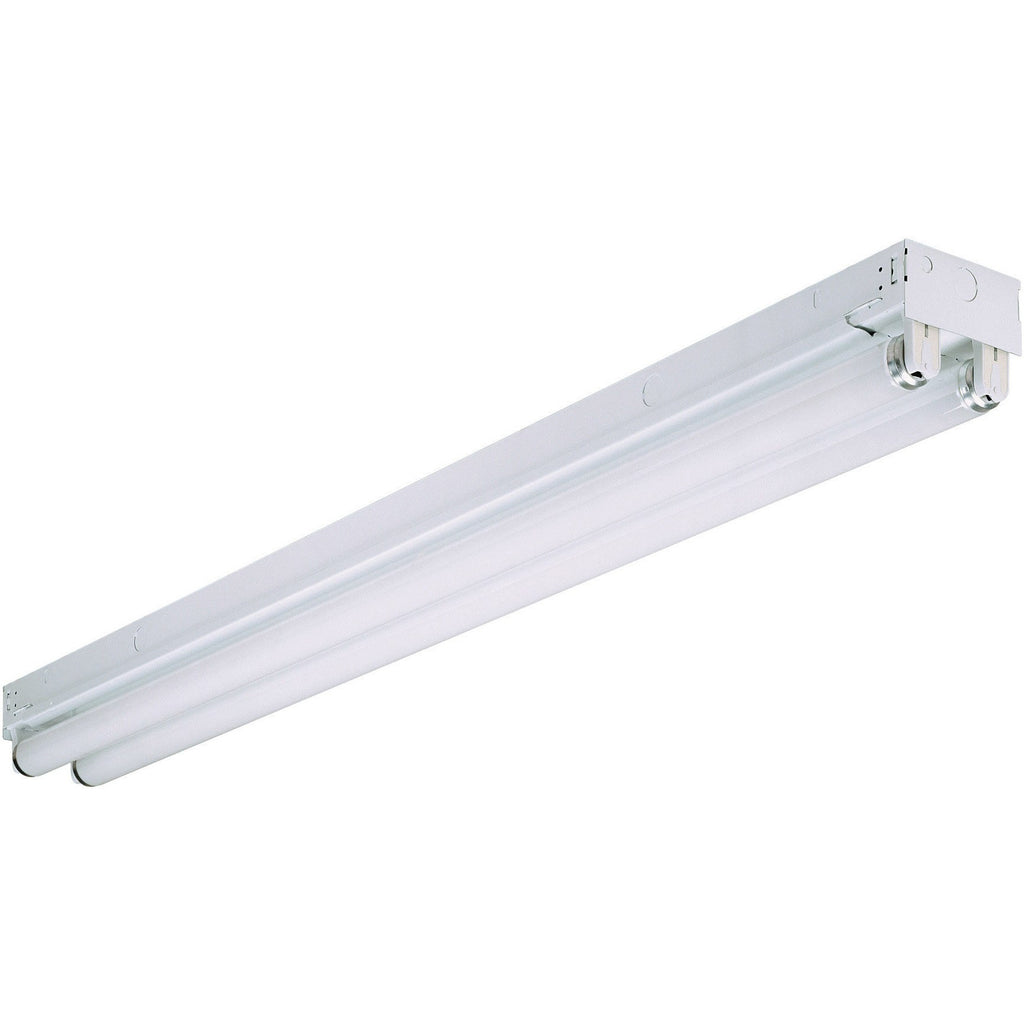 4 FT Fluorescent F32T8 - 2 Lamp - Linear Commercial Strip Light Operates 2 F32T8 Lamps - Title 24 Compliant - Instant Start Four Bros Lighting