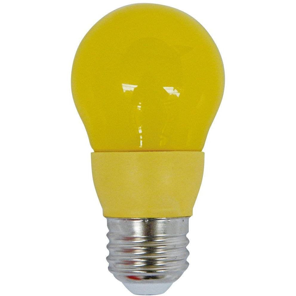 Led 5 Watt Beautiful Light Bulb Equivalent With Hannochs Basic Putih Fabulous Colored Party A Yellow Bug Medium Base
