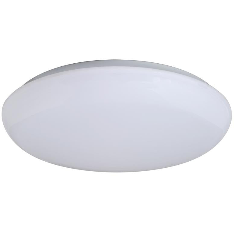 19 Inch - Cloud-Mushroom Flush Mount Fixture - Energy Star - White Finish - 35 Watt - Karimah Fashion