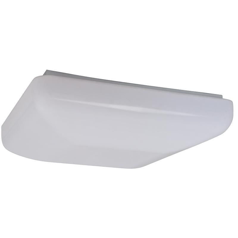 125 inch dia 14 watt led square ceiling fixture cool white 125 inch 14 watt led square flush mount ceiling fixture cool white energy aloadofball Gallery