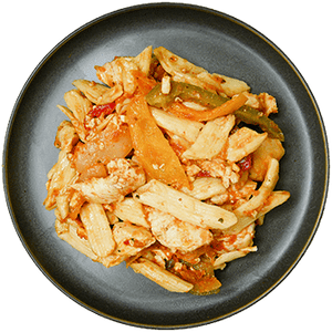 Chicken Peppers Penne