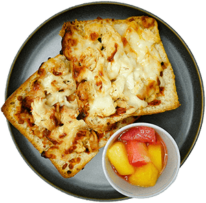 Ciabatta Chicken Pizza