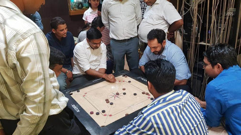 Indian Grocery Store - Carrom Men - Singal's