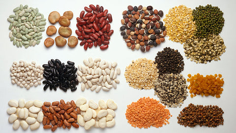 Indian Grocery Store - Types of Lentils - Singals