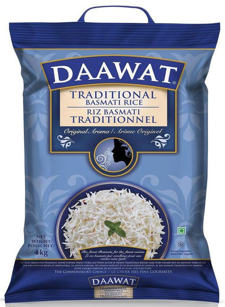 Daawat White Basmati Rice - Singal's - Indian Grocery Store