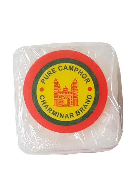 Camphor Pooja Kapoor Tablets (12gm) - Singal's- Indian Grocery Store
