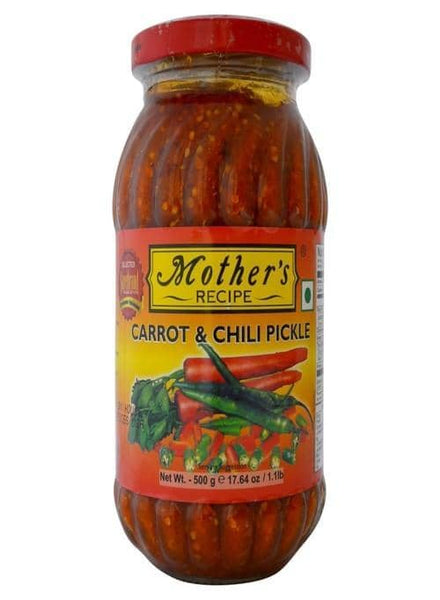 Indian Grocery Store - Mother's Carrot Chilli Pickle - Singal's