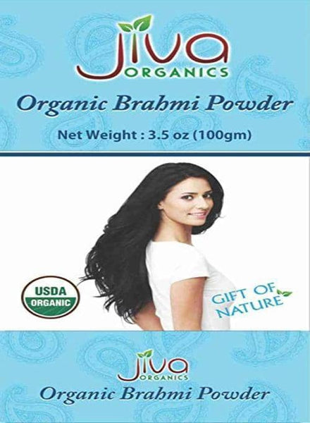 Indian Grocery Store - Jiva Organic Brahmi Powder Hair - Singals