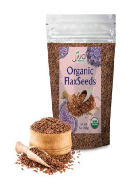 Indian Grocery Store - Jiva organic Flax Seeds - Singal's