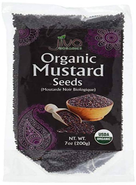Indian Grocery Store - Jiva Organic Mustard Seeds - Singal's