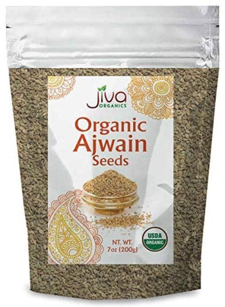 Indian grocery Store - Jiva Organic Ajwain Seeds - Singal's
