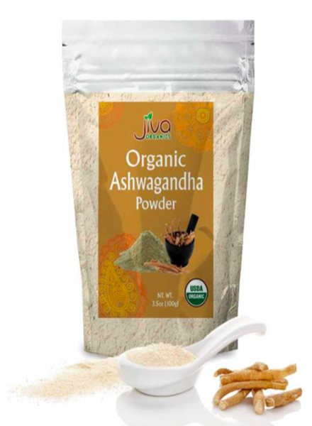 Indian Grocery Store - Jiva Organic Ashwagandha Powder - Singal's