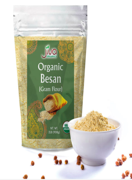 Indian Grocery Store - Jiva Organic Besan Chickpea Flour - Singal's