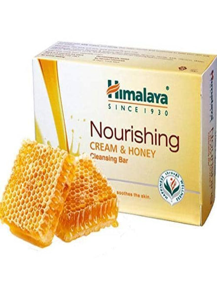 Indian Grocery Store - Himalaya Cream & Honey Nourishing Soap - Singal's