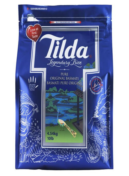 Tilda Pure Basmati Rice 10lbs - Indian Grocery Store - Singal's