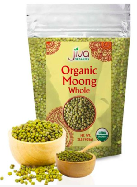 Indian Grocery Store - Jiva Organic Green Moong Whole - Singal's