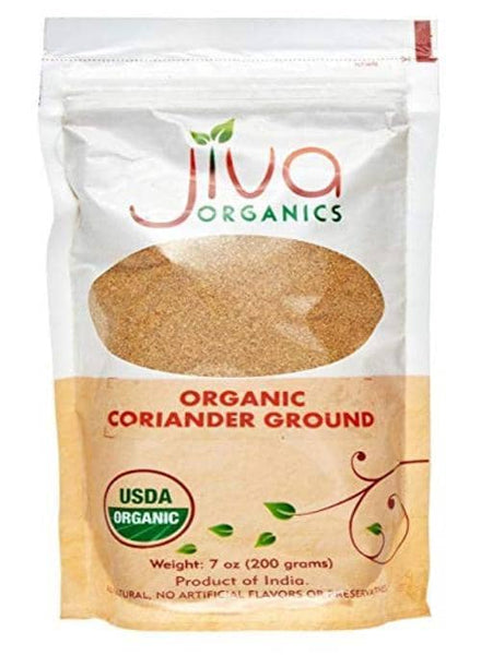 Indian grocery Store - Jiva organic Coriander Powder - Singal's