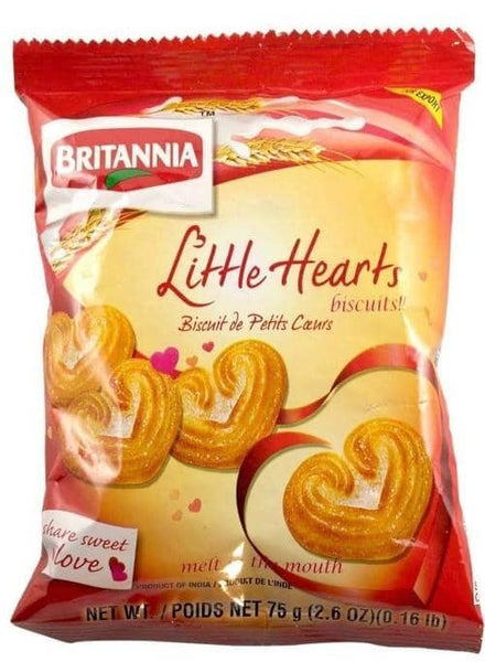 Indian Grocery Store - Britannia Little Hearts Biscuits - Singal's