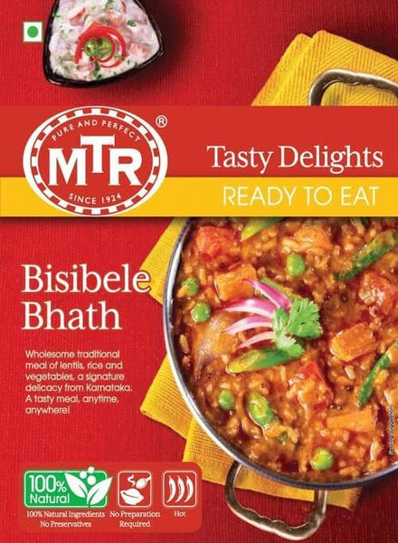 Indian Grocery Store - MTR Bisibelebath - SIngal's