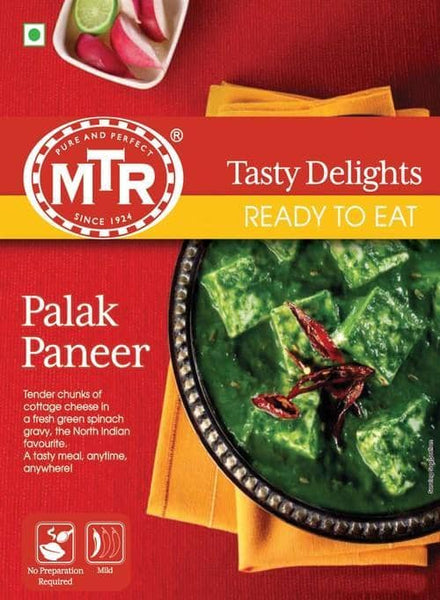 Indian Grocery Store - MTR Palak Paneer Curry - Singal's
