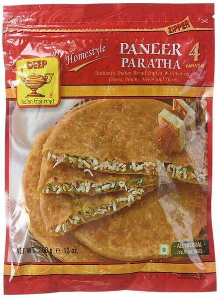 Deep Paneer Parathas (4 pcs) - MONTREAL ONLY