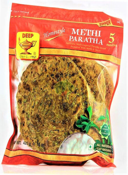 Deep Methi Parathas - Singal's - Indian Grocery Store