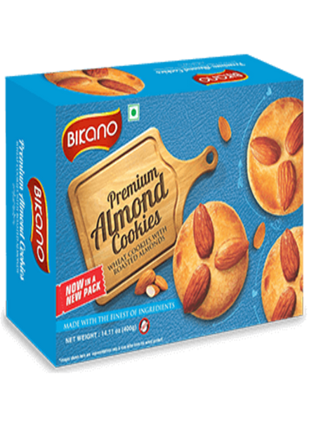 Bikano Almond Cookies - Singal's - Indian Grocery Store
