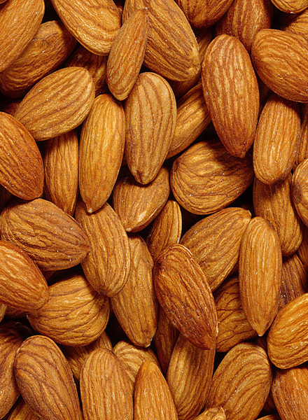 Whole Almonds Plain Natural (1 lbs)