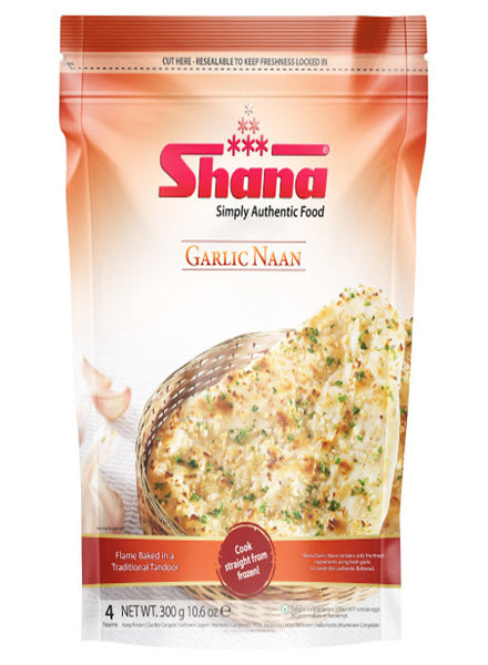 Shana Garlic Naan - Indian Grocery Store - Singal's