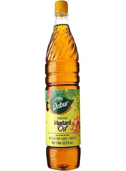 Dabur Mustard Oil 1L - Indian Grocery Store - Singal's