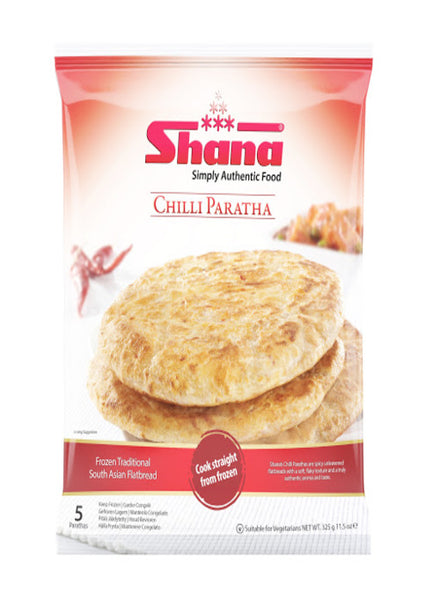 Shana Chilli Paratha - Indian Grocery Store - Singals.ca