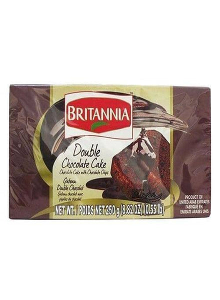 Indian Grocery Store - Britannia Double Chocolate Cake - Singal's