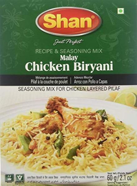 Indian Grocery Store - Shan Malay Chicken Biryani Mix - Singal's