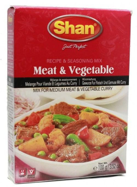 Indian Grocery Store - Shan Meat & Vegetable Curry Mix - Singal's