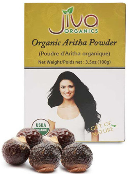 Jiva Organic Aritha Powder - Singal's - Indian Grocery Store
