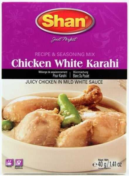 Indian Grocery Store - Shan Chicken White Karahi Mix - Singal's