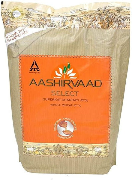 Aashirvaad Select Sharbati Atta - Indian Grocery Store - Singal's