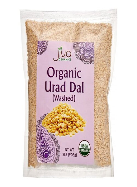 Jiva Organic Urad Dal White Split - Singal's - Indian Grocery Store