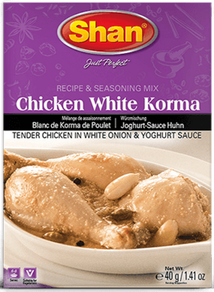 Indian grocery Store - Shan Chicken White Korma - Singal's