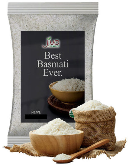 Jiva Organic White Basmati Rice - Singal's - Indian Grocery Store