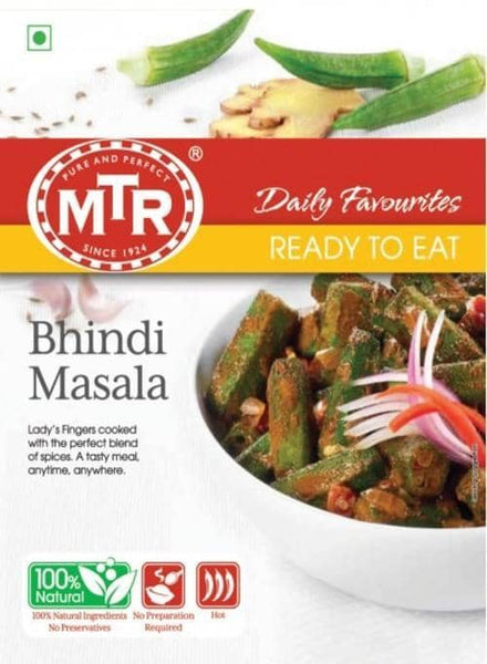 Indian Grocery Store - MTR Bhindi Masala Curry - Singal's