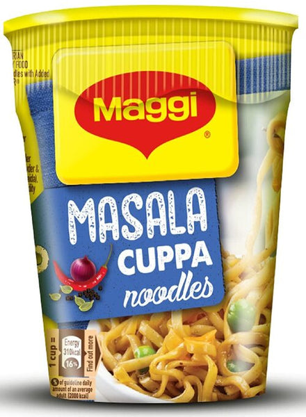 Maggi Masala Cuppa Noodles - Singal's - Indian Grocery Store