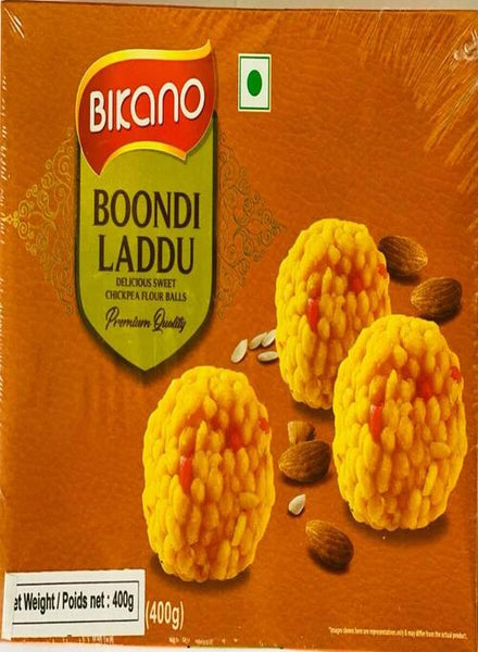 Bikano Boondi Laddu - Singal's - Indian Grocery Store