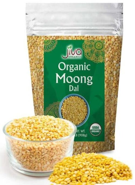 Jiva Organic Yellow Moong Dal - Singal's - Indian Grocery Store