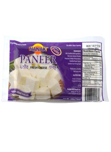 Nanak Paneer Cheese Block (341 gms) - MONTREAL ONLY