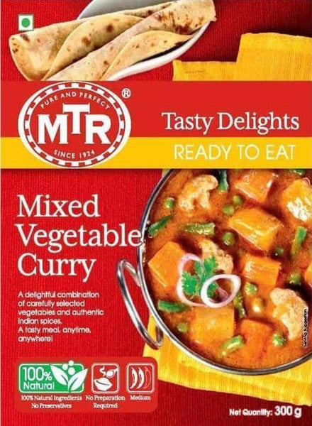 Indian Grocery Store - MTR Mixed Vegetable Curry - Singal's