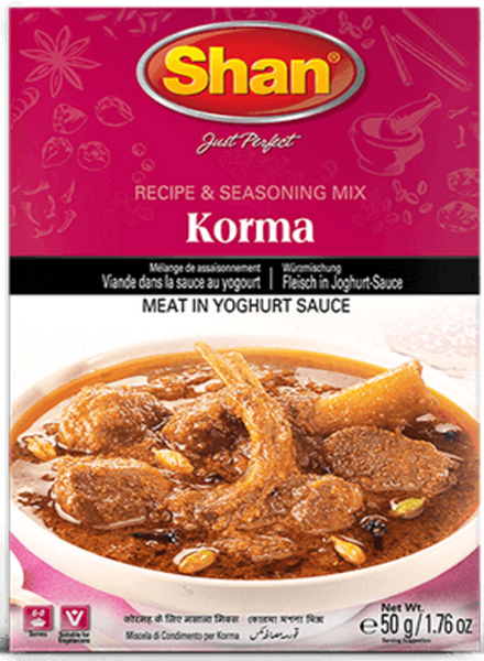 Indian Grocery Store - Shan Korma Curry Mix - Singal's