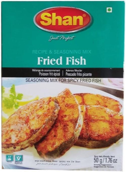 Indian Grocery Store - Shan Fried Fish Seasoning Mix - Singal's